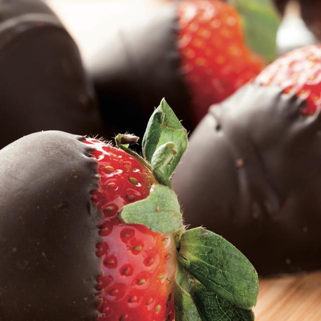 Fragole con cioccolato Nero Perugina