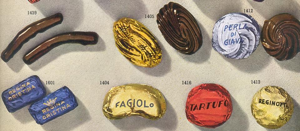 Nel 1924, dall'amore tra Giovanni Buitoni e Luisa Spagnoli, nascono i cioccolatini fondenti Dimmi di Sì e Tre Re®