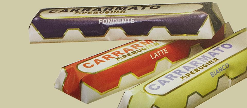 Nel 1965 nel nuovo stabilimento Perugina® vengono creati nuovi prodotti