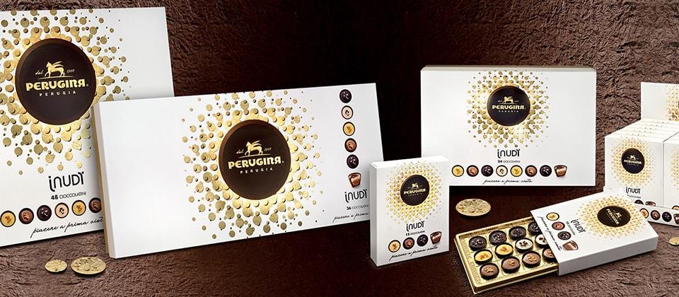 Nel 2014 nascono I Nudi Perugina® , deliziosi cioccolatini senza incarto