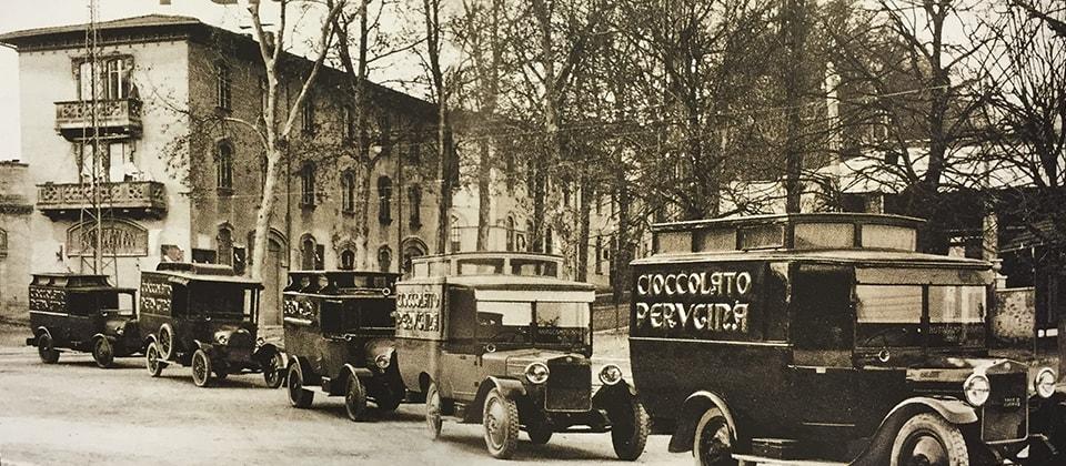 Perugina® nel dopoguerra, il cioccolato nel mercato di massa