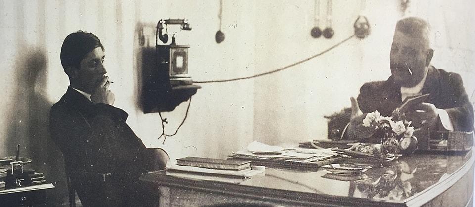 Nel 1907 a Perugia nasce La Società Perugina® per la prodouzione di confetti