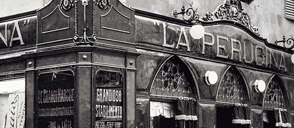 Nel 1919 Perugina® apre il primo negozio in Italia