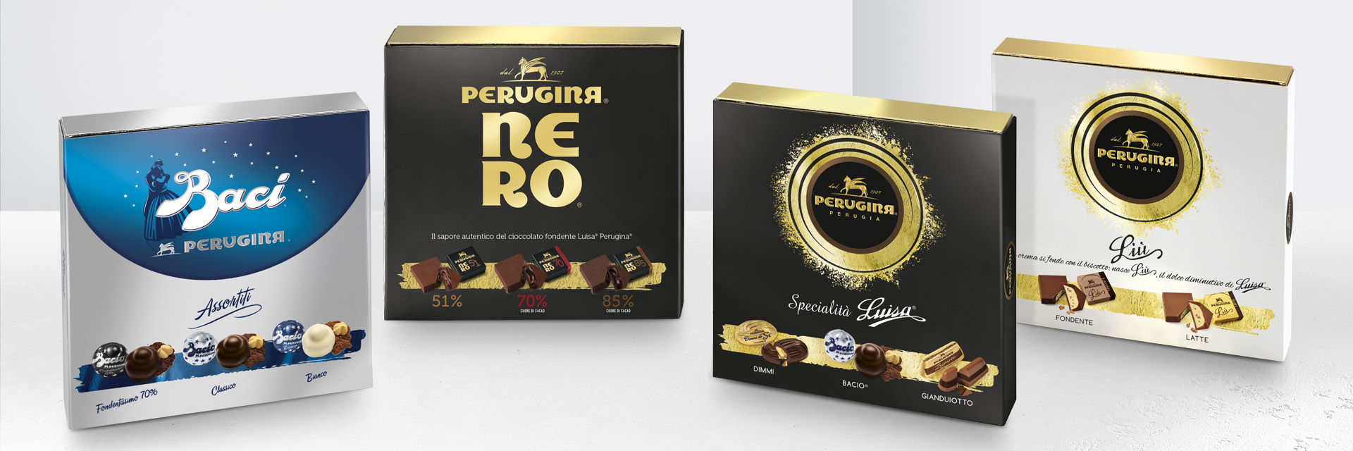 Cioccolatini assortiti Perugina