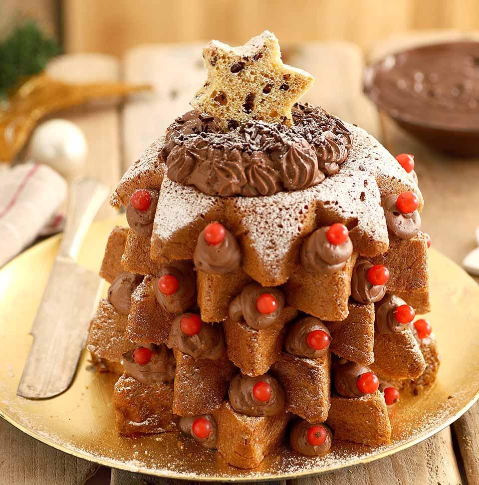 Dolci Di Natale Pandoro.Ricetta Pandoro Al Cioccolato Per Natale Ricette Perugina Com