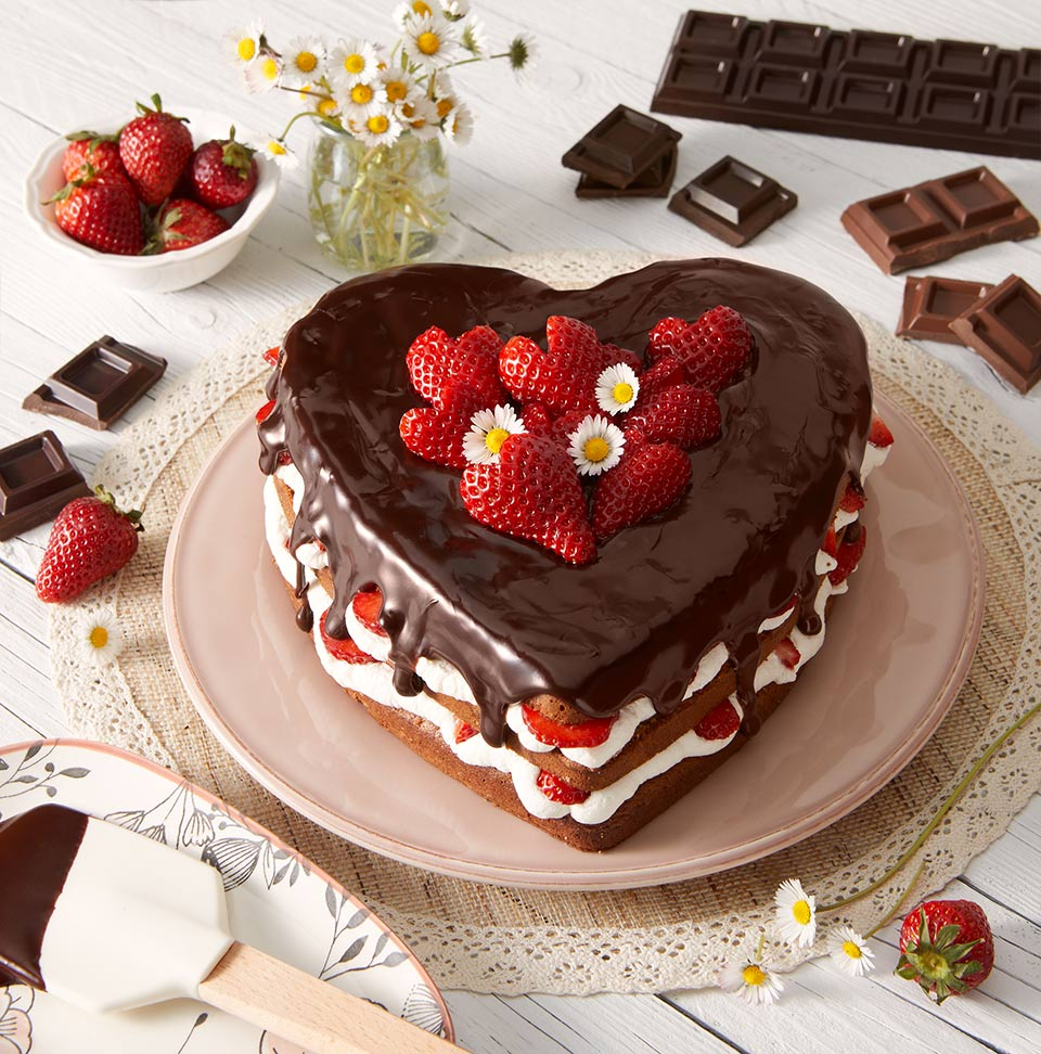 Torta Per La Festa Della Mamma Al Cioccolato Senza Glutine La